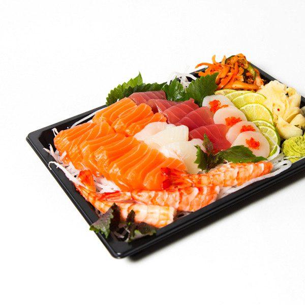 11. Stor sashimi (25 skiver)