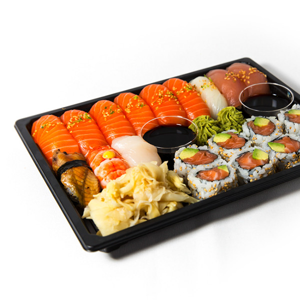 17. Ekstra stor sushi (20 biter)