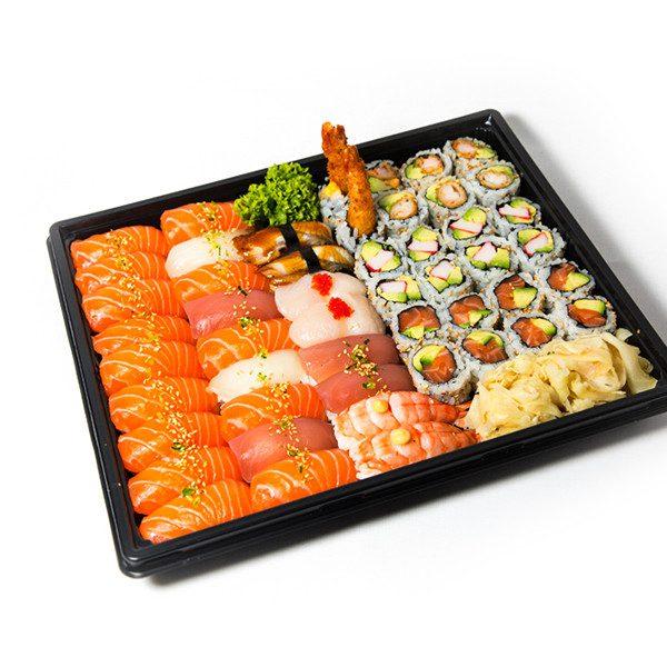 18. Familie sushi (50 biter)