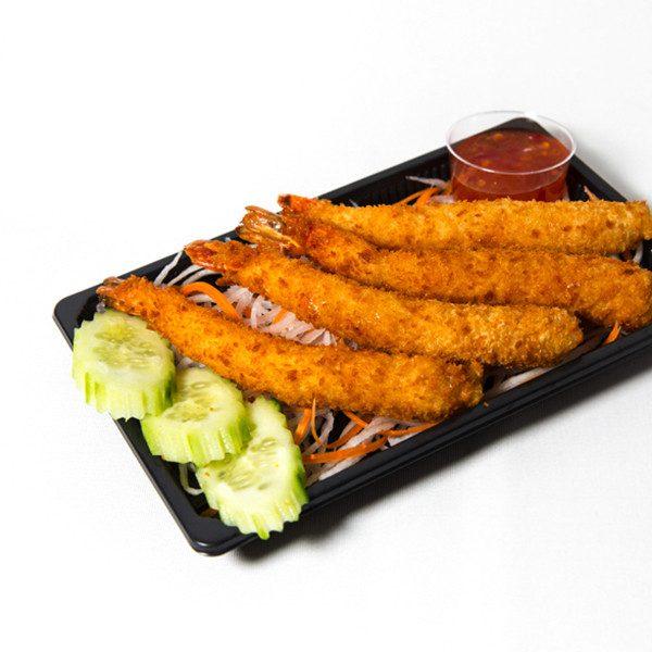 6. Fritert scampi snacks (4stk)