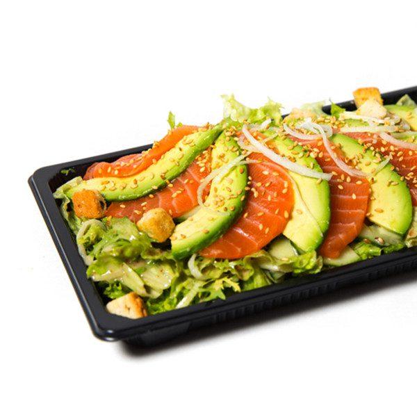 77. Laks sashimi salat