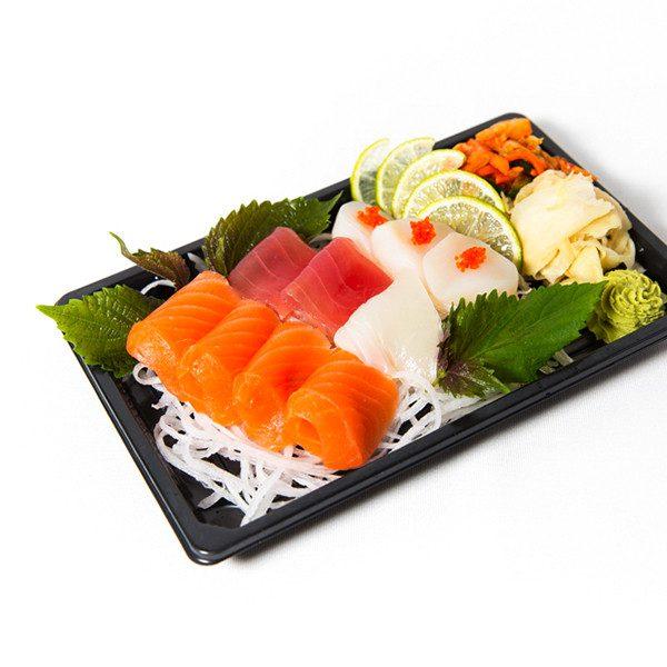 9. Liten sashimi (10 skiver)